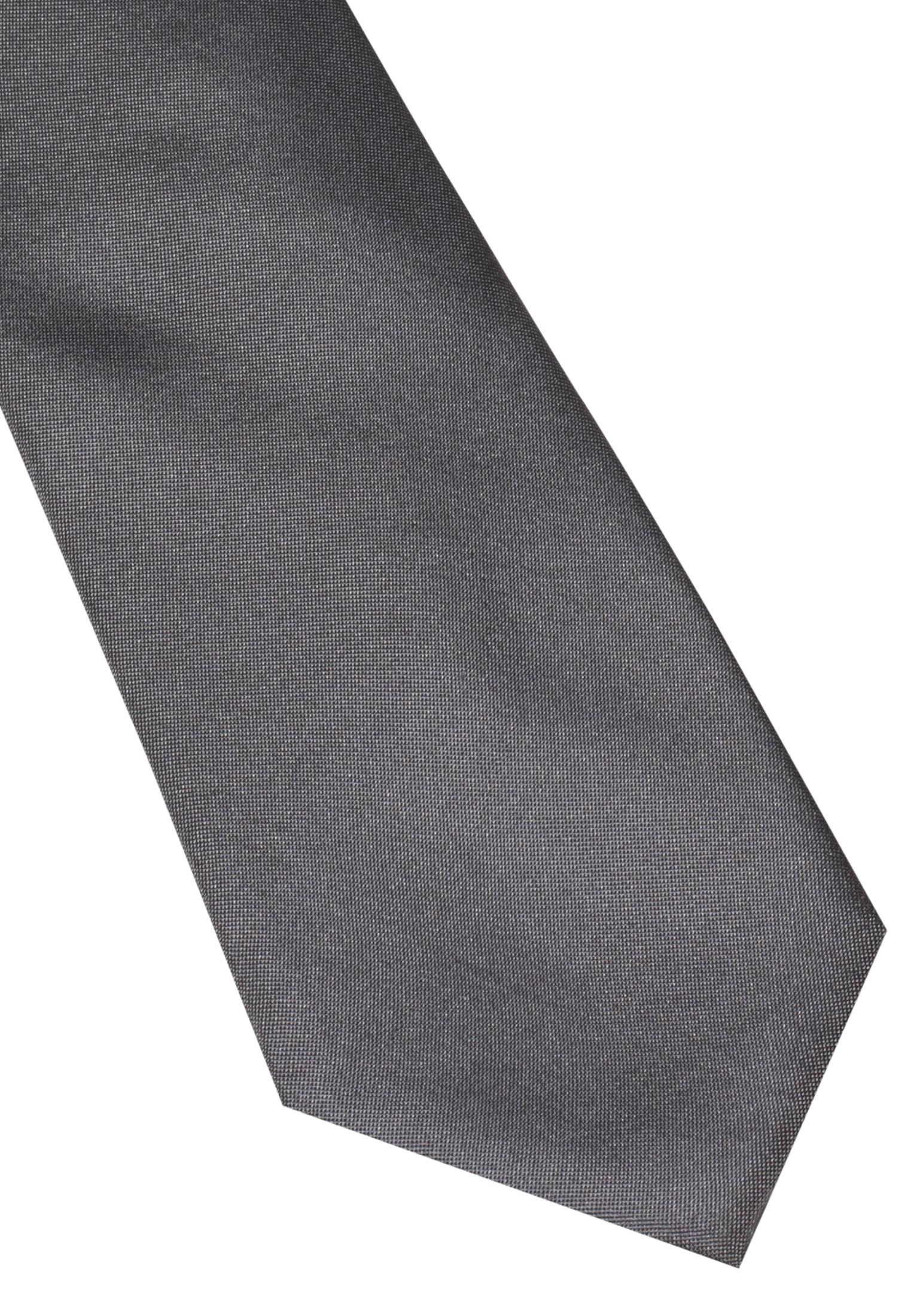 ETERNA 9029 Krawatte Seide silbergrau