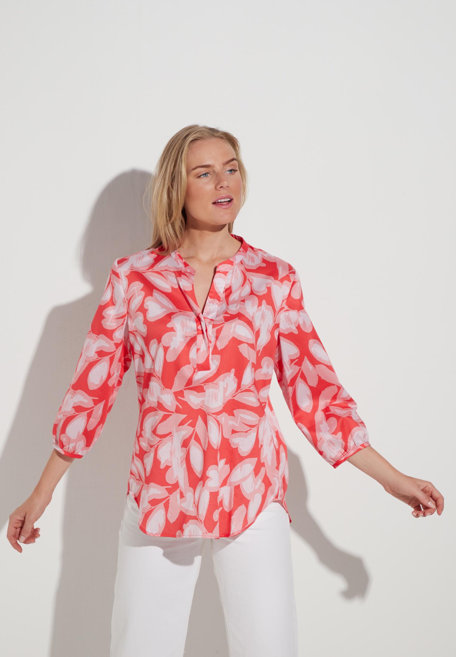 ETERNA 7087 Bluse Baumwolle pink/rose
