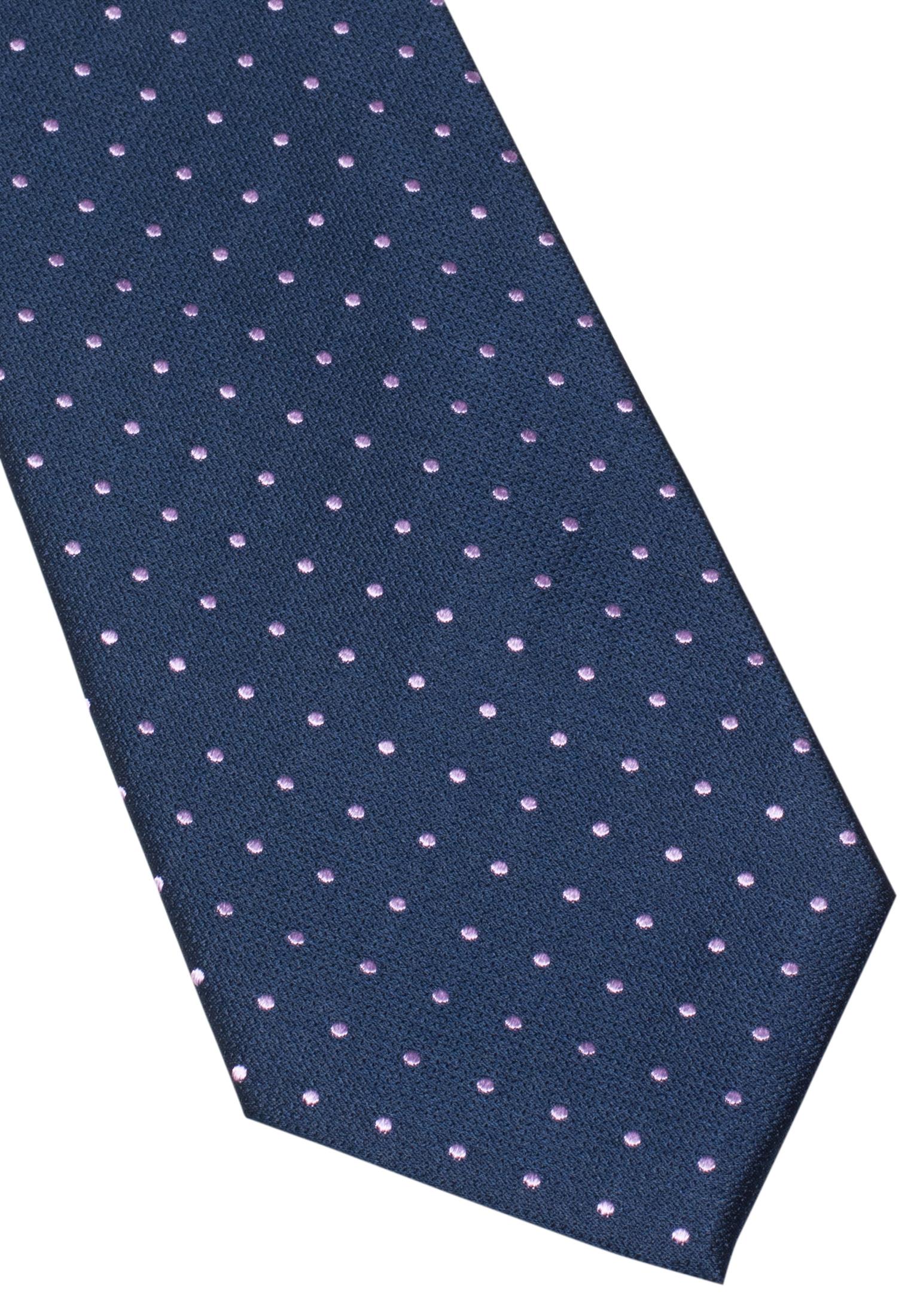 ETERNA 9026 Krawatte Seide rosa/blau