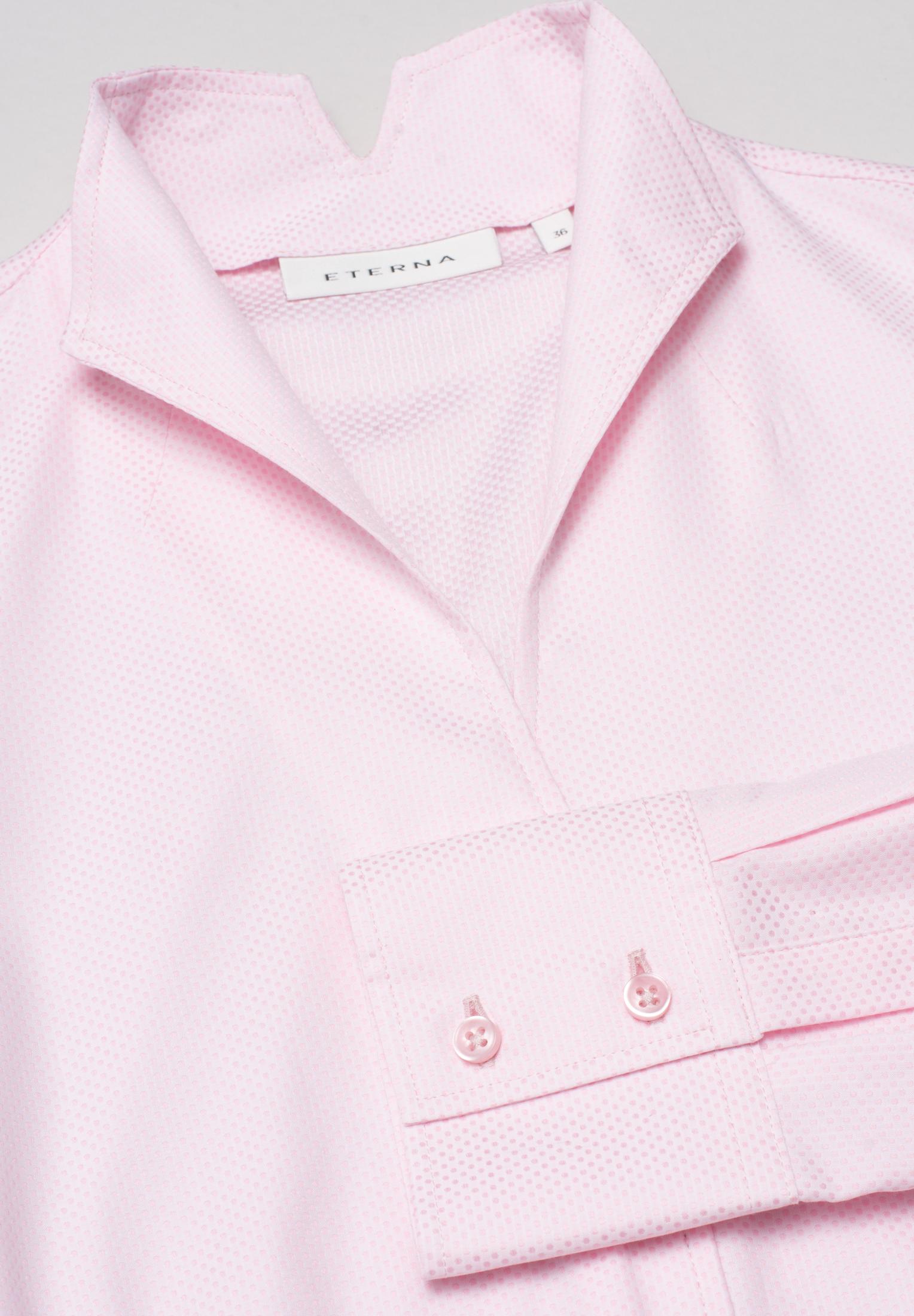 ETERNA 7001 Bluse Baumwolle rosa