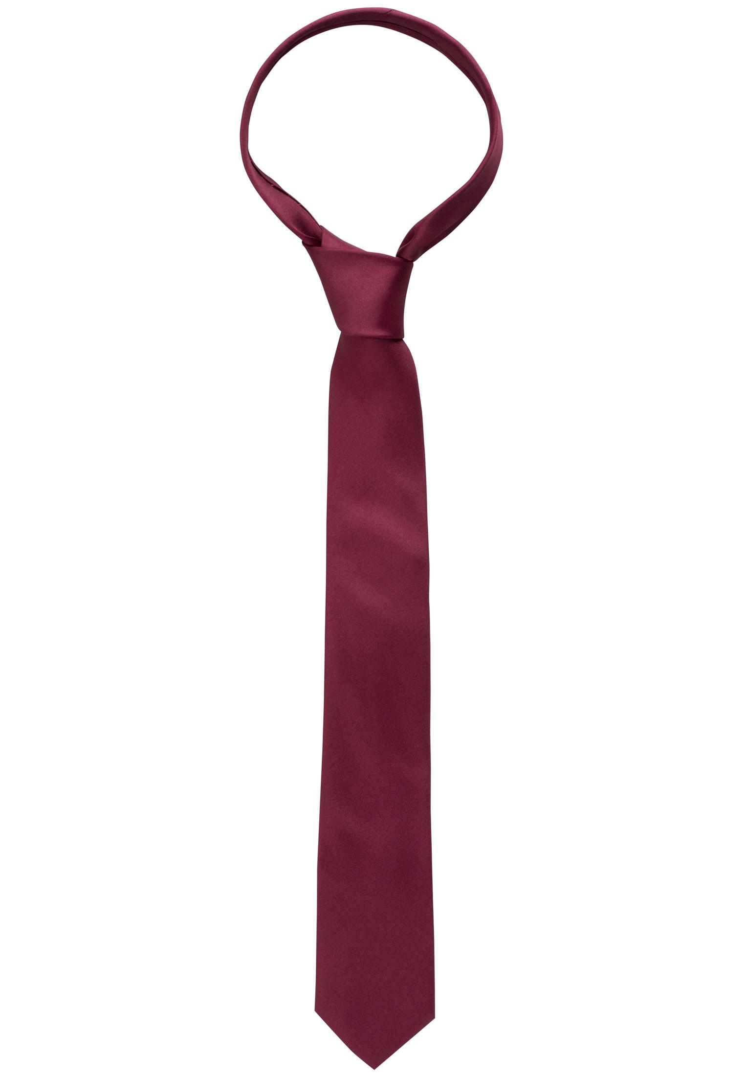 ETERNA 9029 Krawatte Seide weinrot