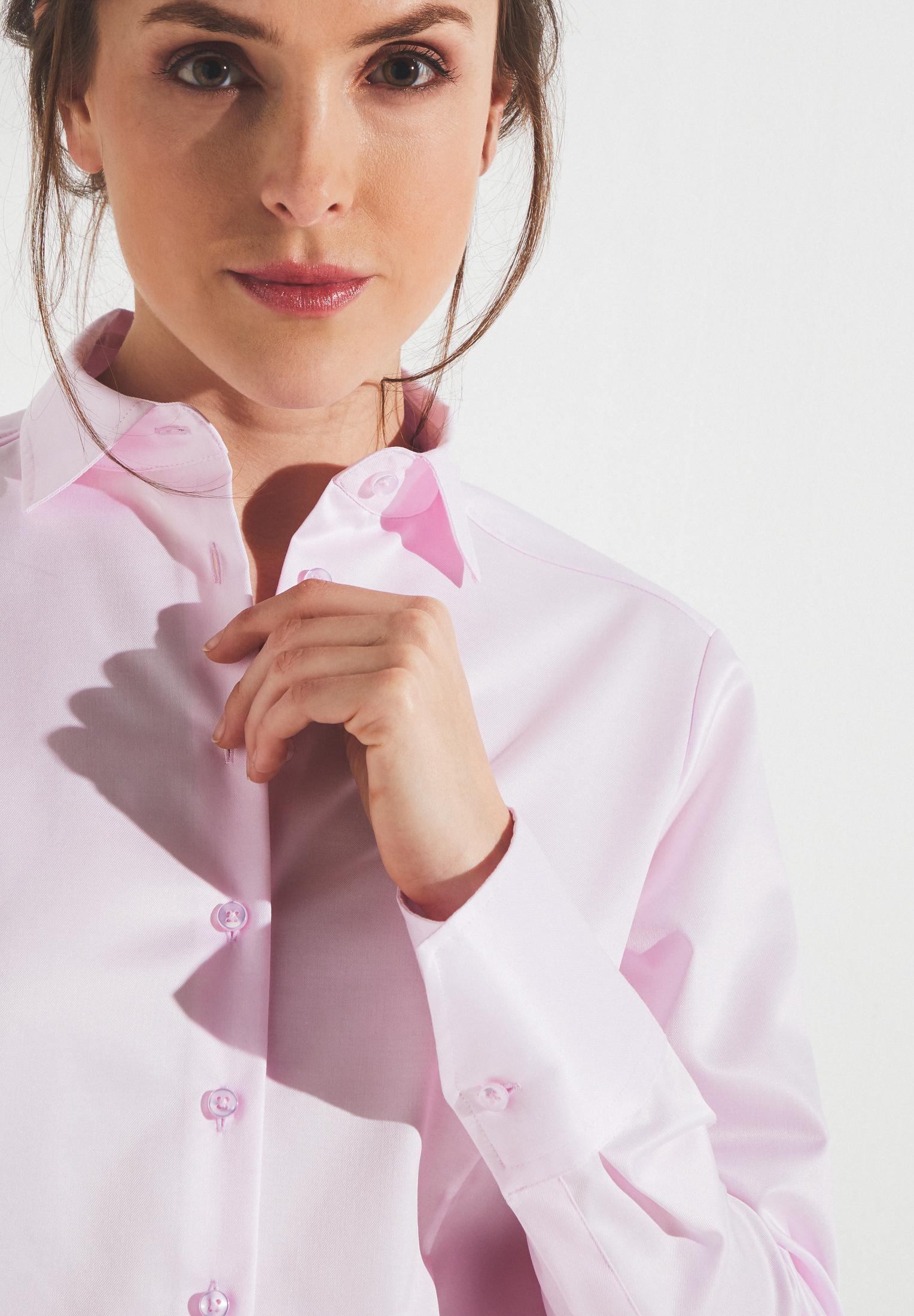 ETERNA 5008 Bluse Baumwolle rosa