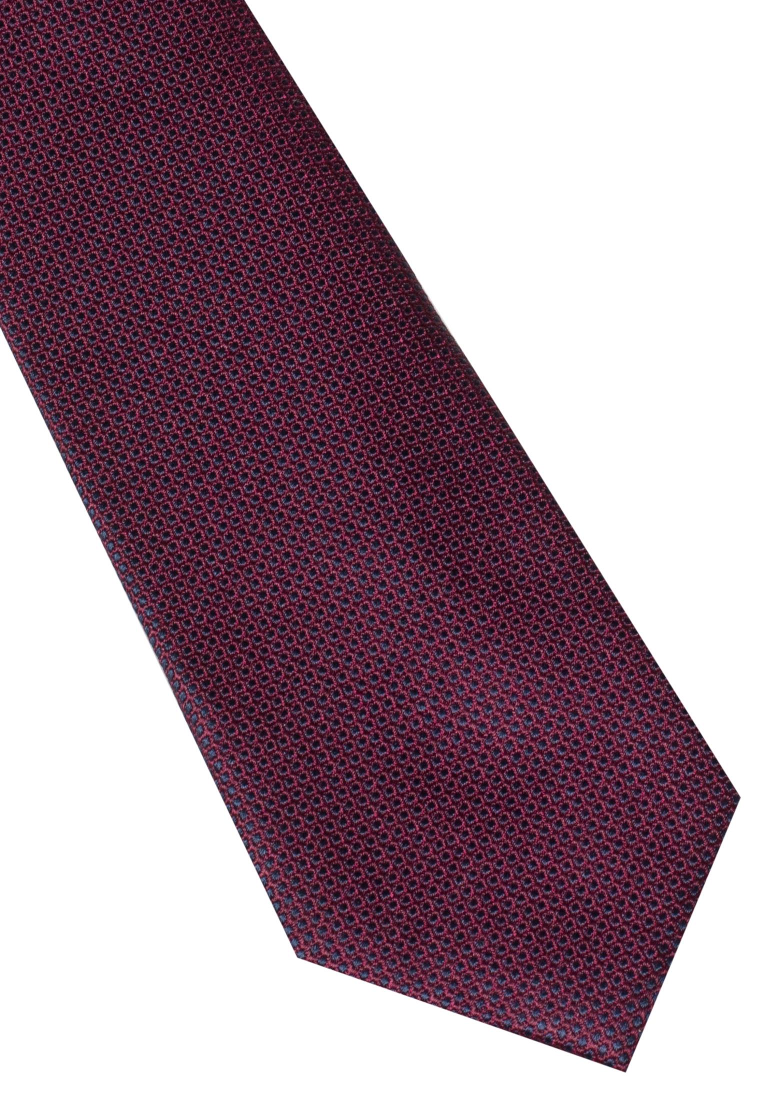 ETERNA 9068 Krawatte Seide bordeaux