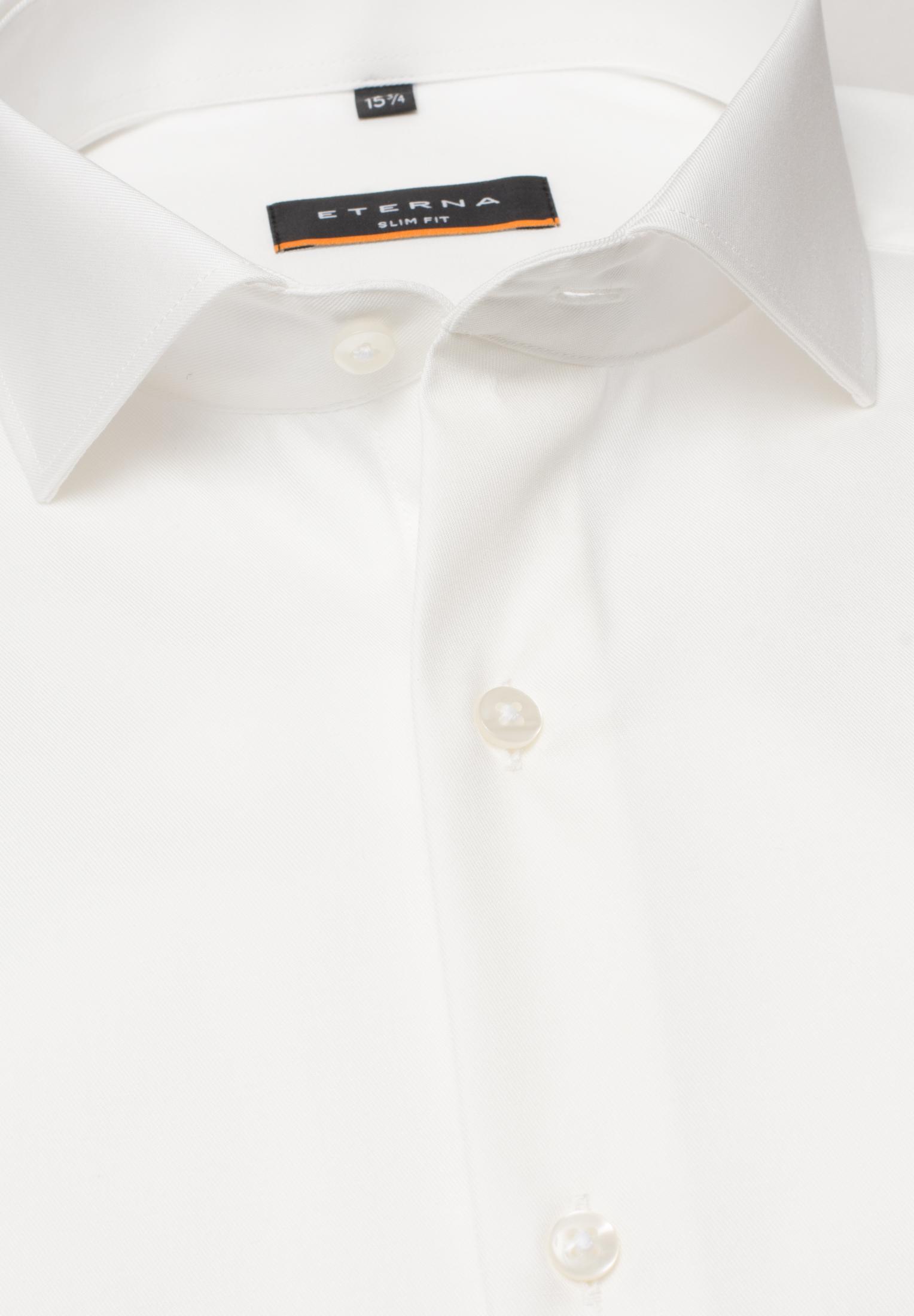 ETERNA 8817 Hemd Baumwolle beige Langarm