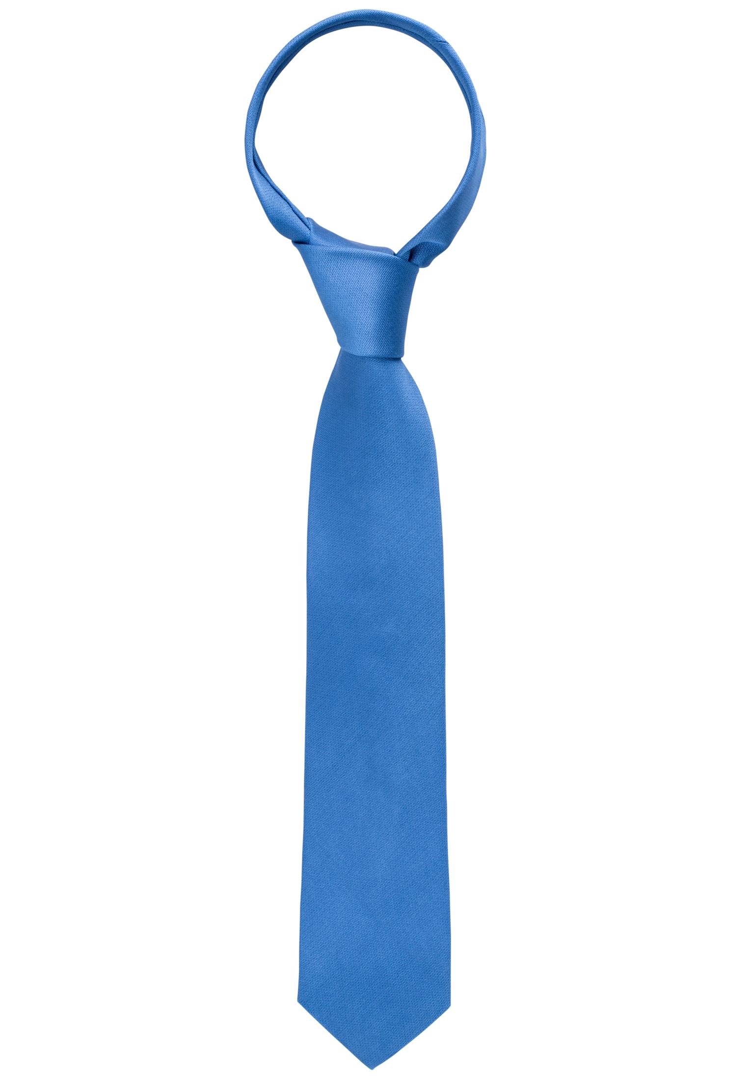 ETERNA 9024 Krawatte Seide jeansblau