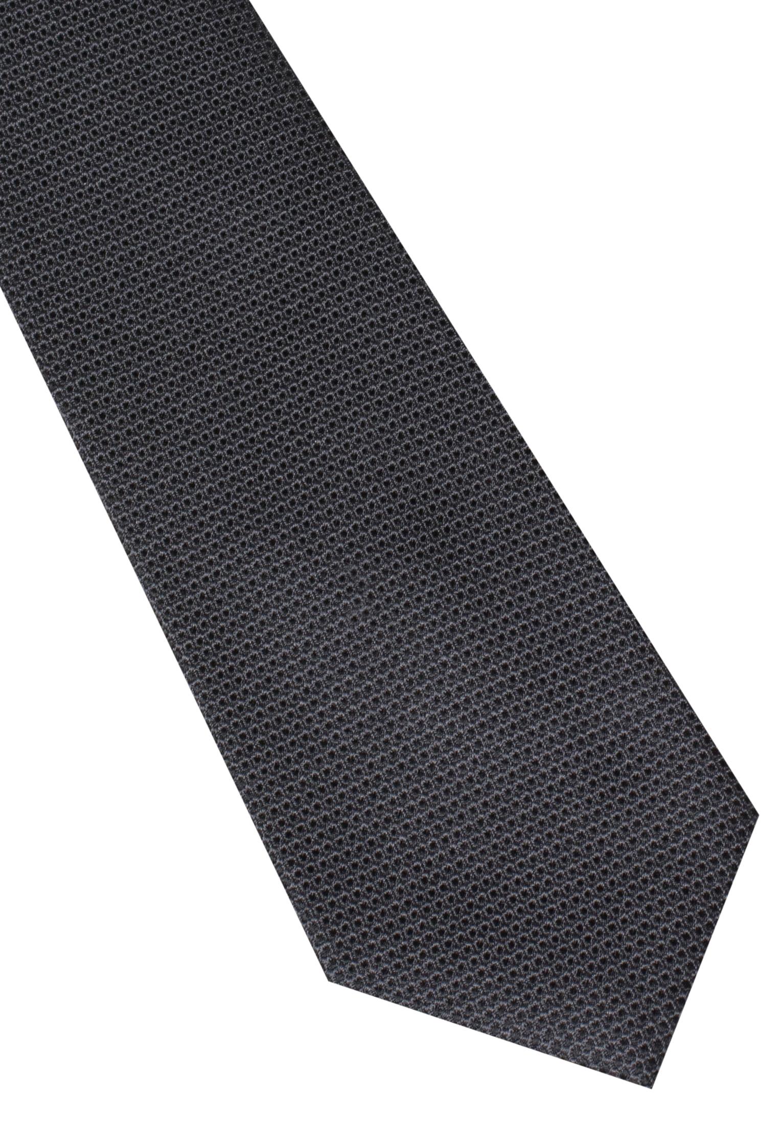 ETERNA 9068 Krawatte Seide schwarz