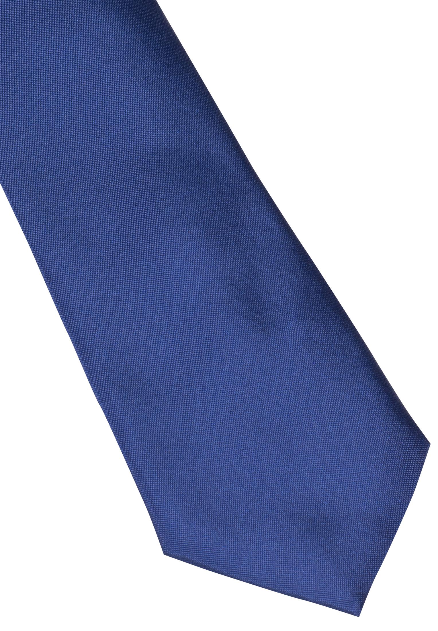 ETERNA 9029 Krawatte Seide jeansblau