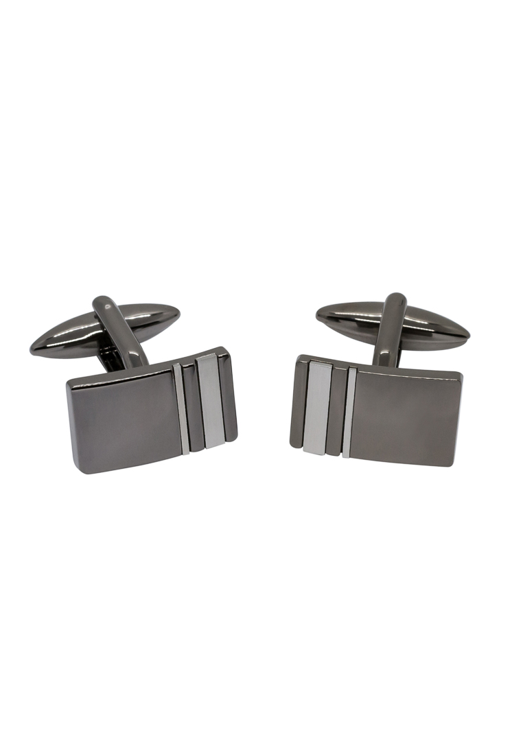 ETERNA 138 Manschettenknöpfe Metall silber/Gunmetal
