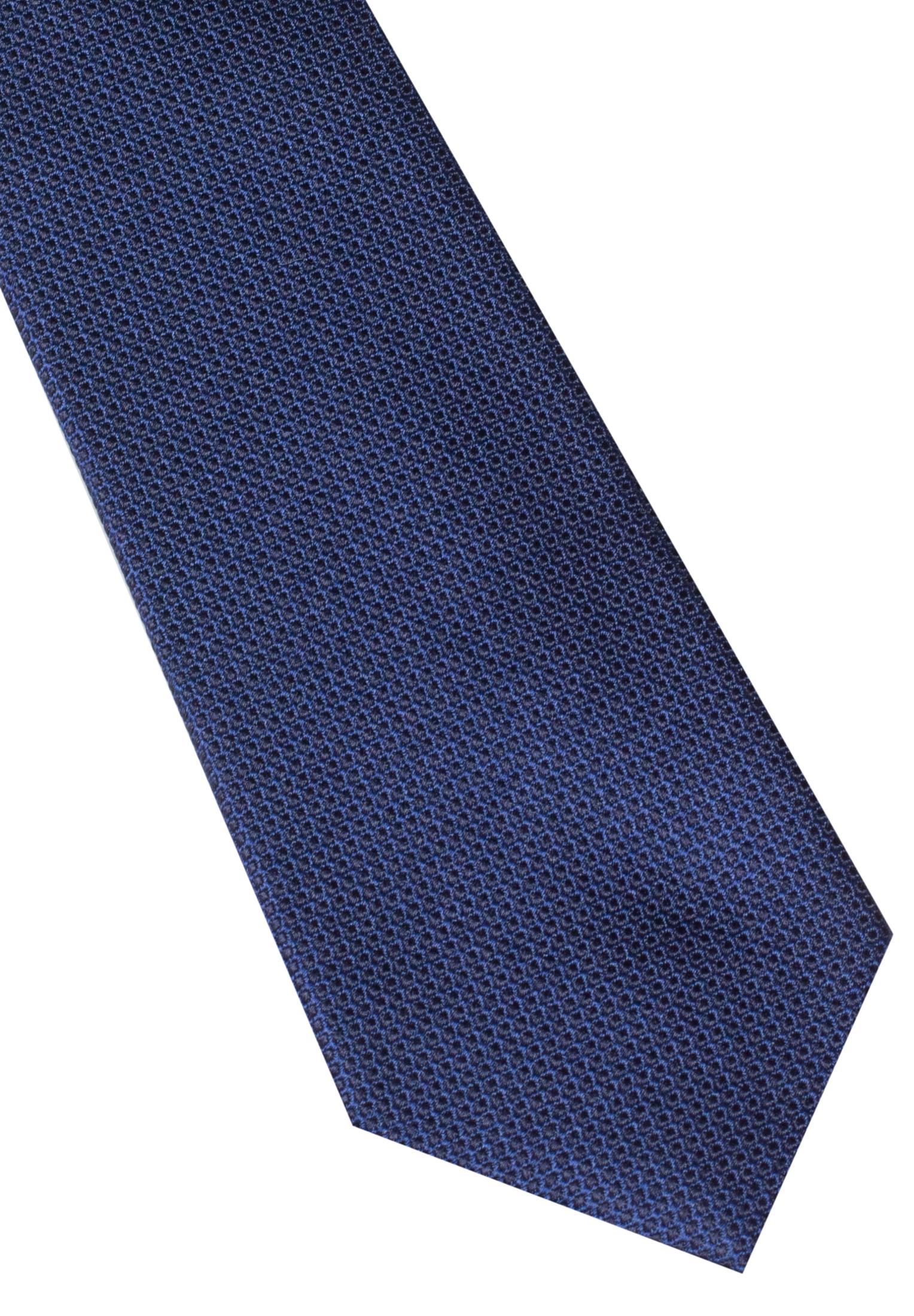 ETERNA 9068 Krawatte Seide marineblau